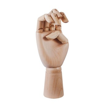 HAY - Hay Wooden Hand Decorative Object M - natural/H: 18cm