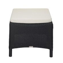 Skagerak - St. Thomas Seat Cushion Poly Rattan Stool