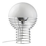 VerPan - Wire Tischleuchte - weiß/Größe 2: Ø40cm