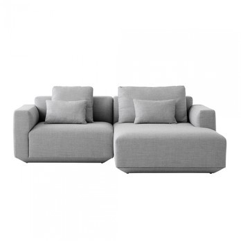 Develius 2-Seater Sofa with Chaise Longue