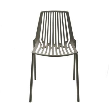 Fast - Rion Gartenstuhl - grau metalic/pulverbeschichtet