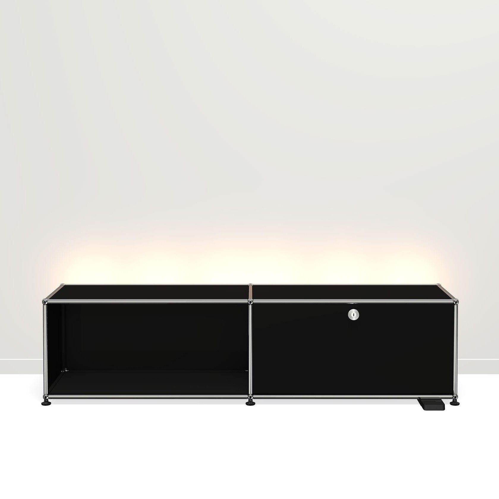Usm Haller E Tv Hi Fi Furniture With Light Ambientedirect
