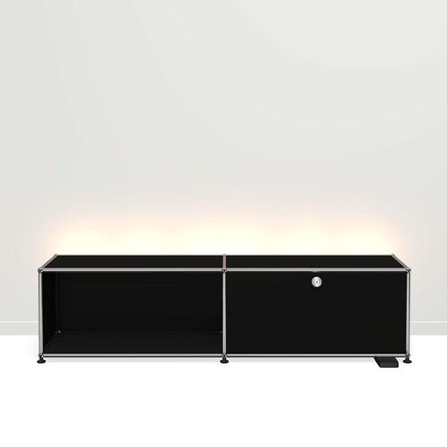 USM Haller - USM Haller E TV/Hi-Fi-Möbel mit Licht