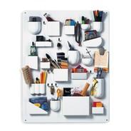 Vitra - Uten.Silo I Accessories Holder - white/glossy/87 x 67 x 6.5 cm