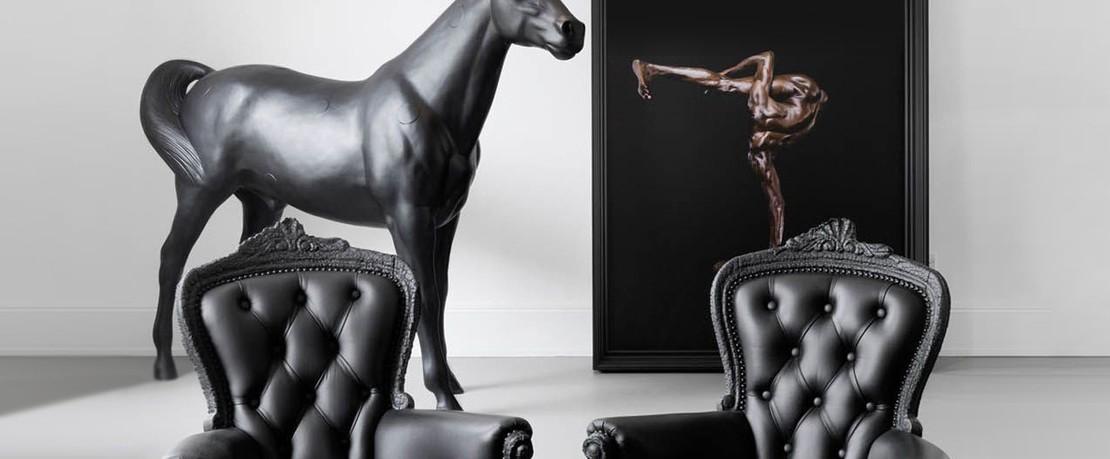 Design-Special Schwarz und Weiß Moooi Unexpected