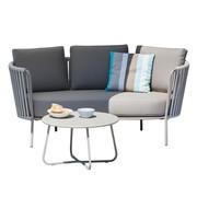Jan Kurtz - Sunderland Rope Garten 2-Sitzer Sofa