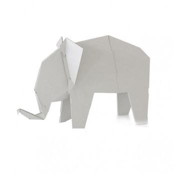 Magis - Me Too My Zoo Elefant Figur - weiß/B x H: 53 x 33.5cm/Größe 1