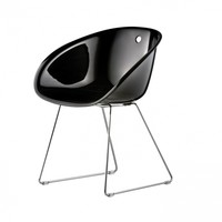Pedrali - Gliss Chair With Skids