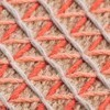 GAN - Raw Pouf groß - pink/Schaumgummi/LxBxH 148x78x38cm