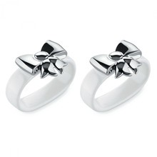 Alessi - Dressed Napkin Ring Set Of 2