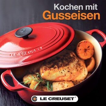 Le Creuset - Le Creuset Cookbook Gusseisen  - multicolour/german
