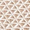 GAN - Raw Pouf klein - weiß/Schaumgummi/LxBxH 78x78x38cm