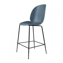 Gubi - Beetle Counter Chair Barhocker Schwarz 108cm