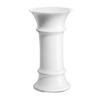 Holmegaard - MB Vase  - weiß/mittel: 22,8 cm