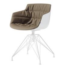 MDF Italia - Flow Slim Armchair Upholstered Frame LEM