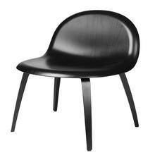 Gubi - Gubi 3D Lounge Chair With Wood Base
