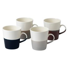 Royal Doulton - Set de 4 tasses Coffee Studio