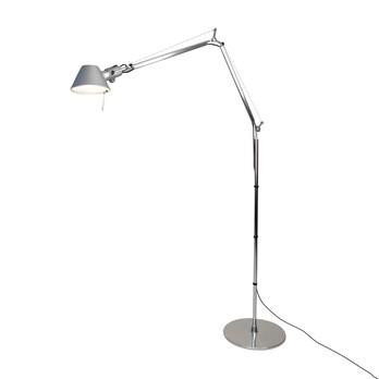 Artemide - Tolomeo Terra LED Stehleuchte - aluminium/3000K/480lm/BxH 134x112cm