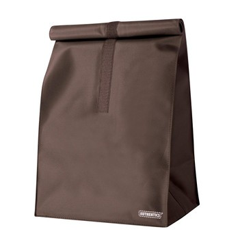 Authentics - Rollbag L Tasche - dunkelbraun/wasserabweisendend/Mikrofaser