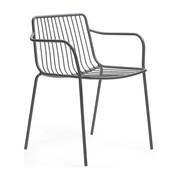 Pedrali - Chaise avec accoudoir/dossier bas Nolita 3655