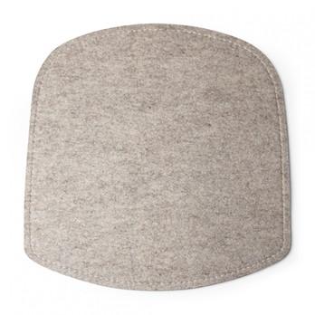 DesignHouseStockholm - Wick Sitzauflage - beige/Wolle/LxBxH 38x38x1cm