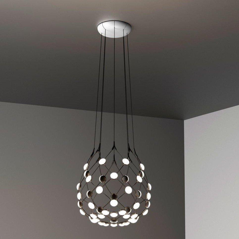 suspension lighting. Luceplan - Mesh LED Suspension Lamp Lighting N