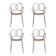 Driade - Sissi Garden Armchair Set Of 4