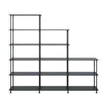 Montana - Free Shelf Stepped 203,4x178,1x38cm