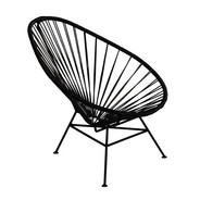 OK Design - Chaise avec accoudoirs Acapulco Mini