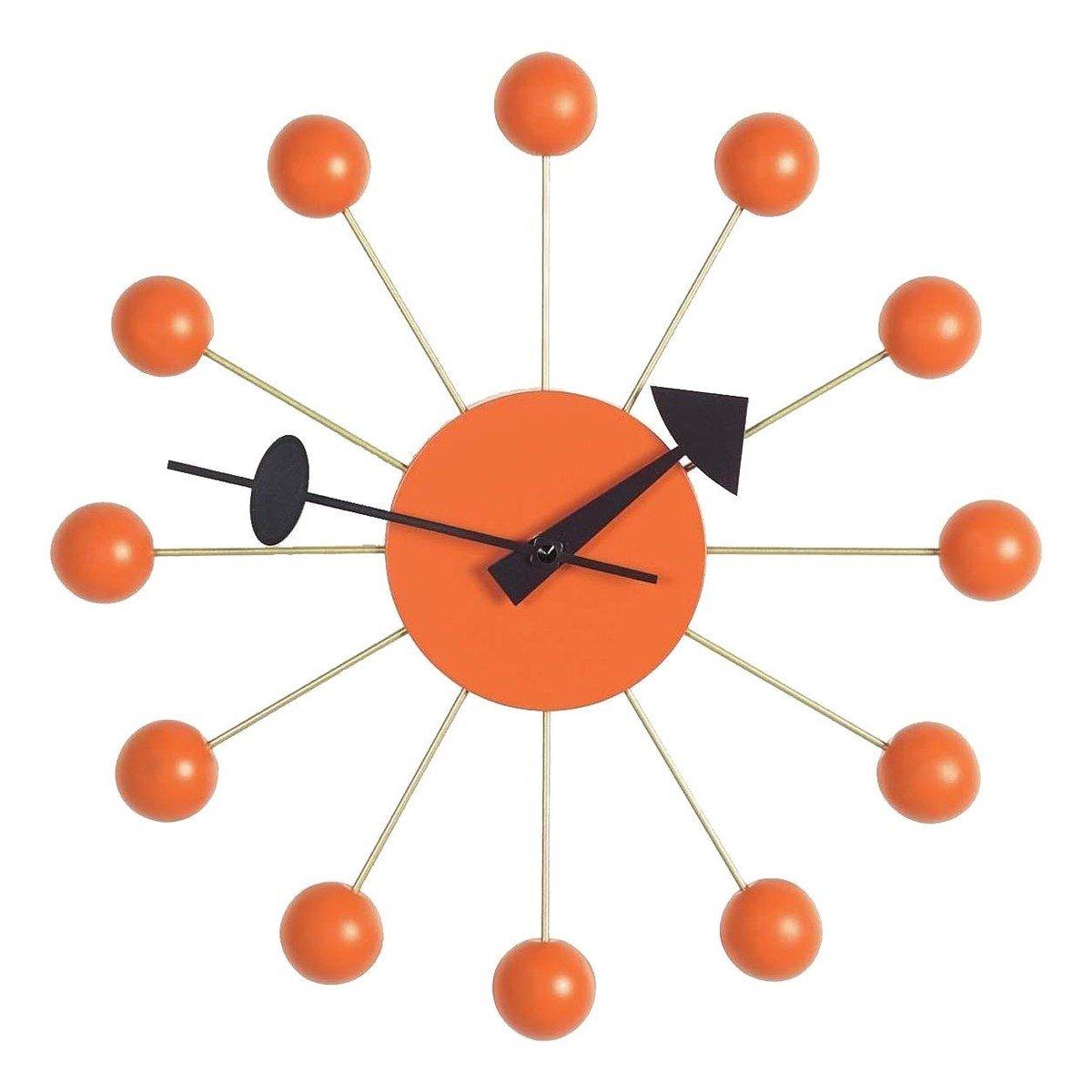 ball clock nelson - horloge murale | vitra | ambientedirect