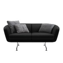 Kartell - Betty 2-Sitzer Sofa Leder