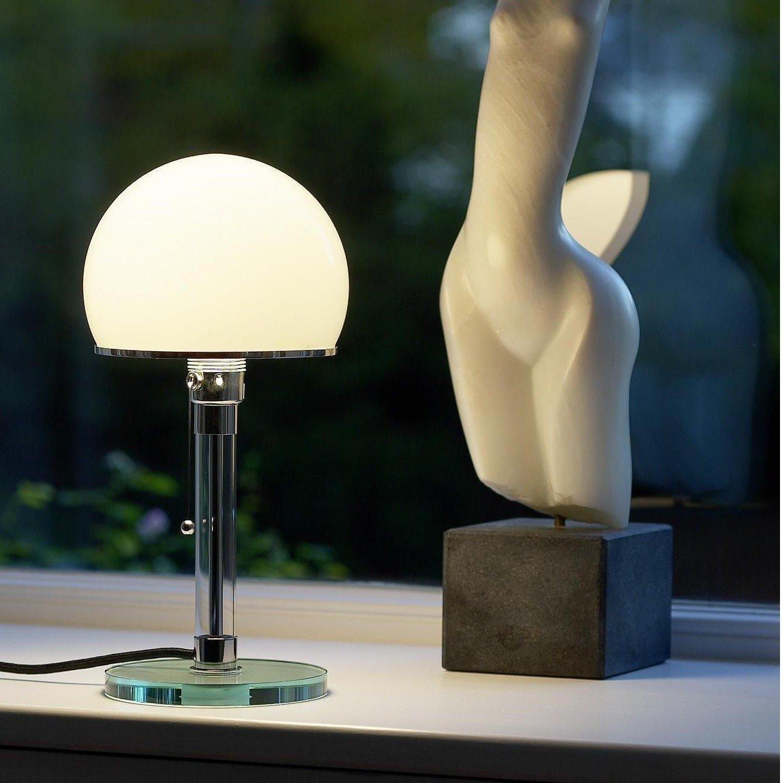 Wagenfeld table lamp tecnolumen ambientedirect tecnolumen wagenfeld table lamp aloadofball Gallery