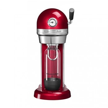 KitchenAid - Artisan 5KSS1121 Sodastream Soda Maker - candied apple red/LxWxH 28x20x45.4cm