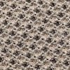 GAN - Garden Layers Small Gofre Kissen - terrakotta/Handwebstuhl/LxB 45x45cm