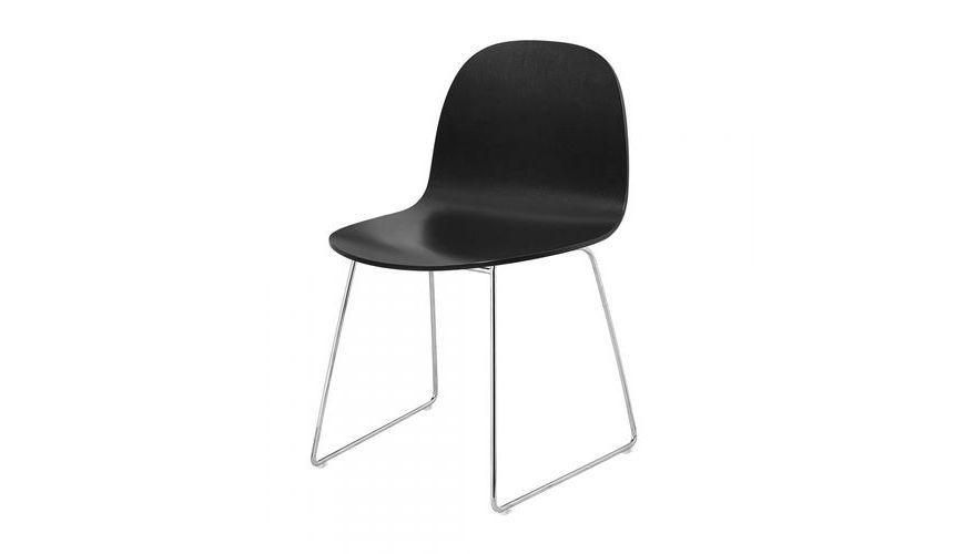 Gubi 2d Dining Chair Chaise Pied Tra 238 Neau Gubi