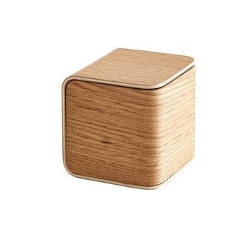 Woud - Gem Organizer Aufbewahrungsbox S - eiche/Matt lackiert/LxBxH 10x10x10cm