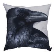 by nord - Raven Cushion 60x60cm - black/white/washable at 30 °/incl. feather filling