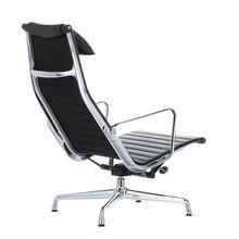 Vitra - Chaise pivotante EA 124 Aluminium Chair