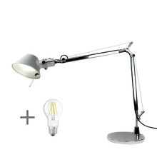 Artemide - Artemide Aktionsset Tolomeo Mini Tavolo + LED