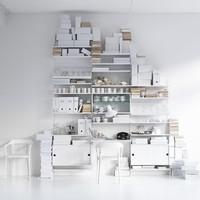 String - String Shelf System white