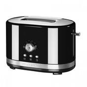 KitchenAid - 5KMT2116 Toaster mit manueller Bedienung - onyx-schwarz/glänzend/für 2 Scheiben/LxBxH 30.5x19.6x20.2cm/1200W/220-240V/50-60Hz