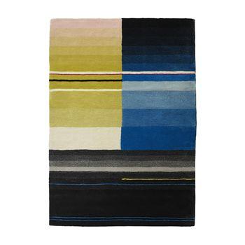 HAY - S&B Colour Carpet Teppich 01 - Retourware (neuwertig/Einzelstück) - grün/schwarz/blau/170x240cm
