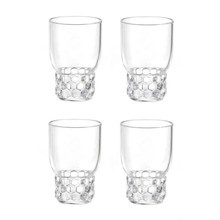 Kartell - Kartell Jellies Family - Waterglas set 4dlg.