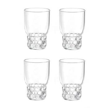 Kartell - Jellies Family Wassergläser-Set 4tlg. - glasklar/transparent