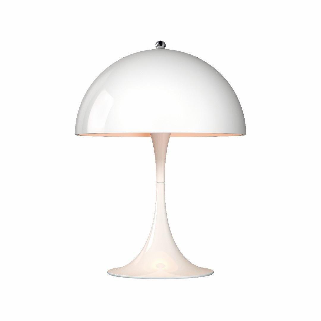 Panthella mini led table lamp louis poulsen ambientedirect louis poulsen panthella mini led table lamp whitepowder coatedh33 aloadofball Choice Image