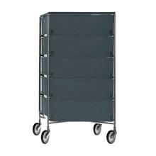 Kartell - Mobil 5 Container mit Rollen