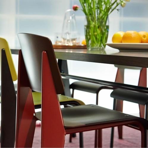 Vitra - Table Solvay Prouvé Tisch