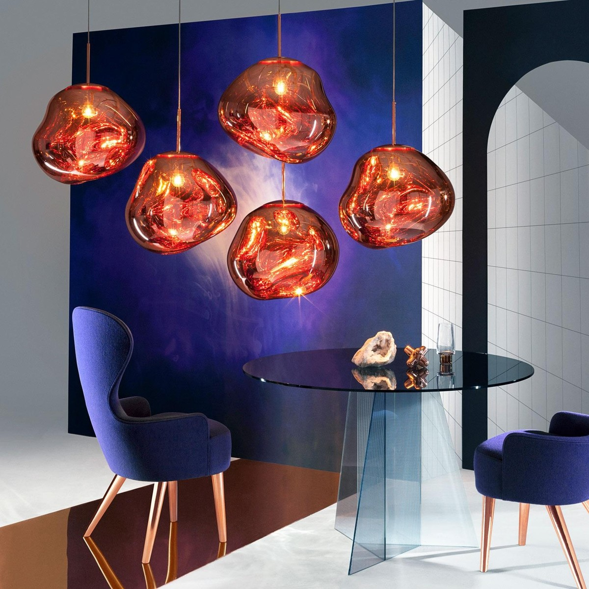 melt pendelleuchte tom dixon. Black Bedroom Furniture Sets. Home Design Ideas