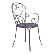 Fermob - Chaise avec accoudoirs de jardin 1900