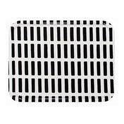 Artek - Artek Siena Tablett 43x33cm - schwarz-weiß